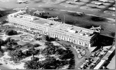 Aeroporto Santos Dumont - Rio de Janeiro - Década de 50