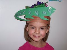 iguana crafts for preschoolers - Google Search