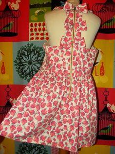 YUMI ON LINE: RIVER ISLAND ROBE DRESS POP ROSES PLASTRON SMOCKS ...