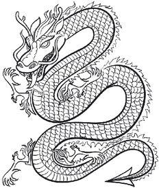 Les 248 Meilleures Images De Dragon Dessin Noir Et Blanc Dessin