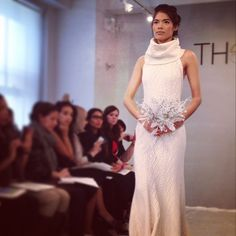 For the rehearsal dinner possible?  Dress by Theia Couture