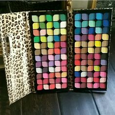 Matte Eyeshadow palette / New 120 colors! Big Size All matte eyeshadow palette. all the pretty colors you need. This is a big palette! ***120 colors!  Colors are very pigmented, the payout is nice. Case is soft and padded and closes like a clutch. Makes a great gift! Ingredients include talc and mica ( bare minerals and tarte also use these ) * no trades **NEW, Sealed and FRESH! Price firm ($25 is a sale price. absolutely firm, original price is $ 27 ) Makeup Eyeshadow