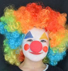 Face Painting & Special Effects Projects Kids Fun, Cool Kids, Clown Face Paint, Cute Clown, Clown Faces, Joker Art, Craft Projects For Kids, Clowns, Costumes