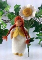 Margerite - Blumenkind für den Jahreszeitentisch im Sommer