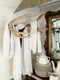 For hanging towels