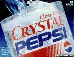 Clear Crystal Pepsi