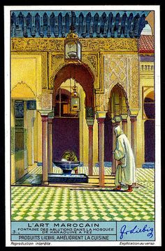 Ghibli, Vintage Cards, Vintage Postcards, Moroccan Art, Moroccan Style, Ephemeral Art, Commercial Art, Architecture Old, Vintage Travel Posters