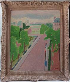 Jules Cavailles (1901-1977) - Paris, les quais de Seine