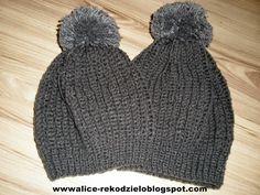 Alicjowe cudeńka: czapka hełm rycerza