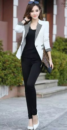 60 elegant high low ideas winter 2018 fashion trends Winter Outfits,Winter is the coldest season beginning from December to February in the northern side of the equator and in the southern half of the globe from June t. Style Outfits, Mode Outfits, Office Outfits, Casual Outfits, Winter Outfits, Work Fashion, Asian Fashion, Outfit Chic, Winter 2018 Fashion