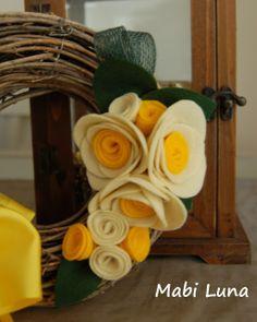.: Tutorial de flores de fieltro