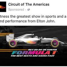 LUX Events #F1 #EltonJohn