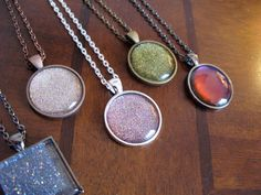 DIY Nail Polish Crafts - Nail Polish Pendants - Easy and Cheap Craft Ideas for Girls, Teens, Tweens and Adults | Fun and Cool DIY Projects You Can Make With Fingernail Polish - Do It Yourself Wire Flowers, Glue Gun Craft Projects and Jewelry Made From nailpolish - Water Marble Tutorials and How To With Step by Step Instructions http://diyjoy.com/nail-polish-crafts