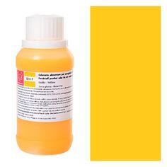 Aerografo : Colorante alimentare perlato per aerografo giallo Modecor 40gr