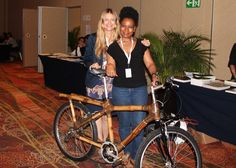 Bamboo bike Ms. Kemi B. Fadojutimi of the Bright Generation Community Foundation, Ghana, presented bamboo bicycles which her organization piloted as an innovative form of clean transport. The bicycles received international attention at the Momentum for Change activities at the last Conference of the Parties of the United Nations Framework Convention on Climate Change (UNFCCC). The construction and recycling of bamboo bikes is far less energy intensive than that of steel bikes and newly…