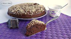 #Torta al #cioccolato e #yogurtgreco #ricetta