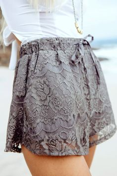 Graya Lace Shorts | SABO SKIRT