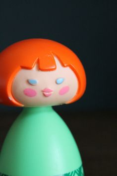 VINTAGE Avon Small World Bubble Bath Figurine. $8.00, via Etsy.