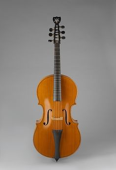 1831 Austrian Arpeggione at the Metropolitan Museum of Art, New York
