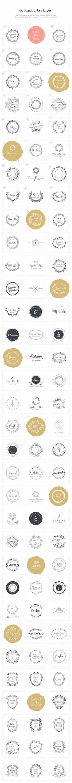 Logo Design Kit by VladCristea on @creativemarket $29.00