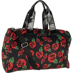 Betsy johnson..i have this design but in a laptop bag:)