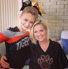 Alisha Dunlap and her daughter Cassidy