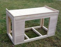 DIY 48 x 18 fish tank stand for glass framed tank - Google Search