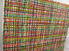 Art & Installation <3 Art de toile de peinture abstraite
