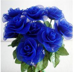 ¡ Nuevo! 20 Colores de Malla de Flores, Materiales de Nylon medias de Seda de…
