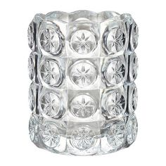 IKEA & FLEST, Tealight holder, The clear glass reflects and enhances the warm glow of the candle flame. The post US & Furniture and Home Furnishings appeared first on Dekoration. Ikea Candles, Buy Candles, Tea Light Candles, Tea Lights, Glass Tealight Candle Holders, Candle Holders Wedding, Candleholders, Lantern Centerpiece Wedding, Wedding Centerpieces