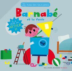 Barnabé et la fusée - illustrations de Vincent Mathy!! - Gallimard Jeunesse