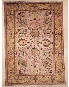 New Contemporary Persian Sultanabad Area Rug 2107 - Area Rug