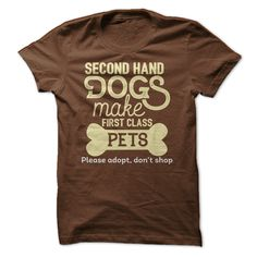 Second hand Dogs make first class Pets