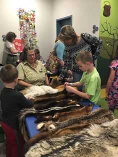 The Forest Service came to visit during Spring Break and brought pelts, animal masks, and Smokey Bear! Interactive Art, Forest Service, Animal Masks, Spring Break, Broadway, Bear, Adventure, Animals, Animales