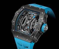 New Release: Richard Mille RM Tourbillon Pablo Mac Donough - Richard Mille, Fossil Watches, Rolex Watches, Tourbillon Watch, Dream Watches, Big Watches, Skeleton Watches, Armani Watches, Amazing Watches