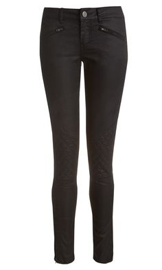 Primark slim leg punk trousers