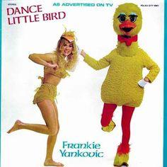 What makes it freakier is the bird has a winky bulge.