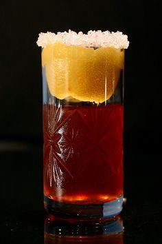 Rum Crust Cocktail