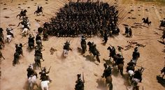 Alatriste (2006) - Spanish Tercio pike square charged by french cavalry at Rocroi (1643)