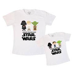 Tal Pai Tal Filho Star Wars - leaoleaozinho.com.br