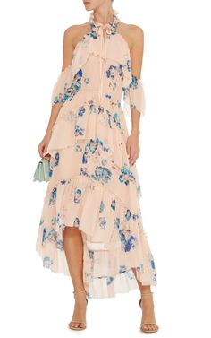 Valentine Halter Off the Shoulder Dress by ULLA JOHNSON Now Available on Moda Operandi