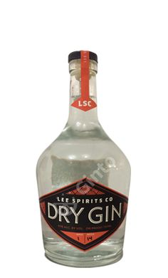Lee Spirits Co. Dry Gin. 45 % ABV. Contemporary.
