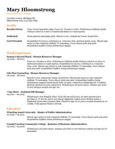 New Massage Therapist Resume Examples Dishwasher Resume Template  Resume Templates And Samples  Pinterest