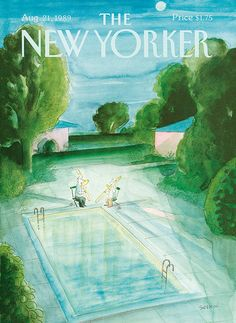 Jean-Jacques Sempé. August 21, 1989 The New Yorker cover