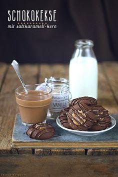 Chocolate Caramel Cookies by windgestalt, via Flickr