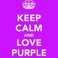 Purple makes everything great!!!