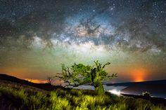 Fotógrafo passa o verão captando imagens incríveis da Via Láctea