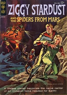 Ziggy Stardust and the Spiders From Mars fake comic