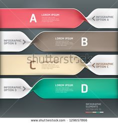 Modern spiral infographics options banner. Vector illustration. can be used for workflow layout, diagram, number options, web design. by graphixmania, via ShutterStock