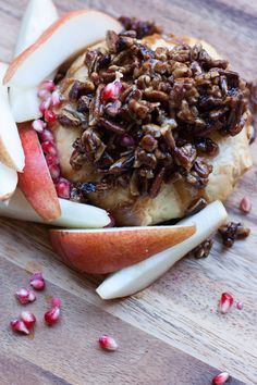 Maple Pecan Baked Brie is a crowd-pleasing appetizer for any party!